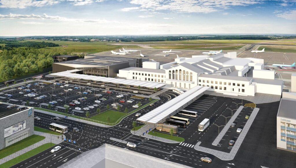 Vilnius airport terminal tender