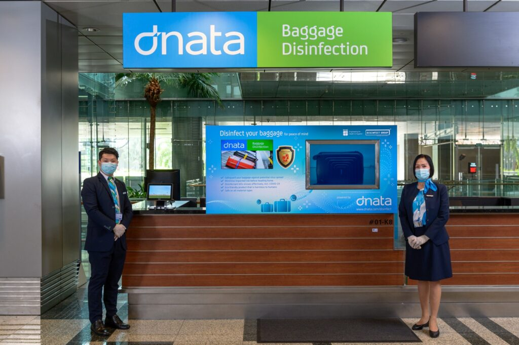 dnata baggage disinfection