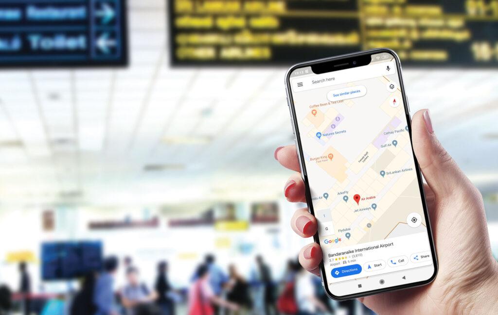 BIA Google Indoor Maps