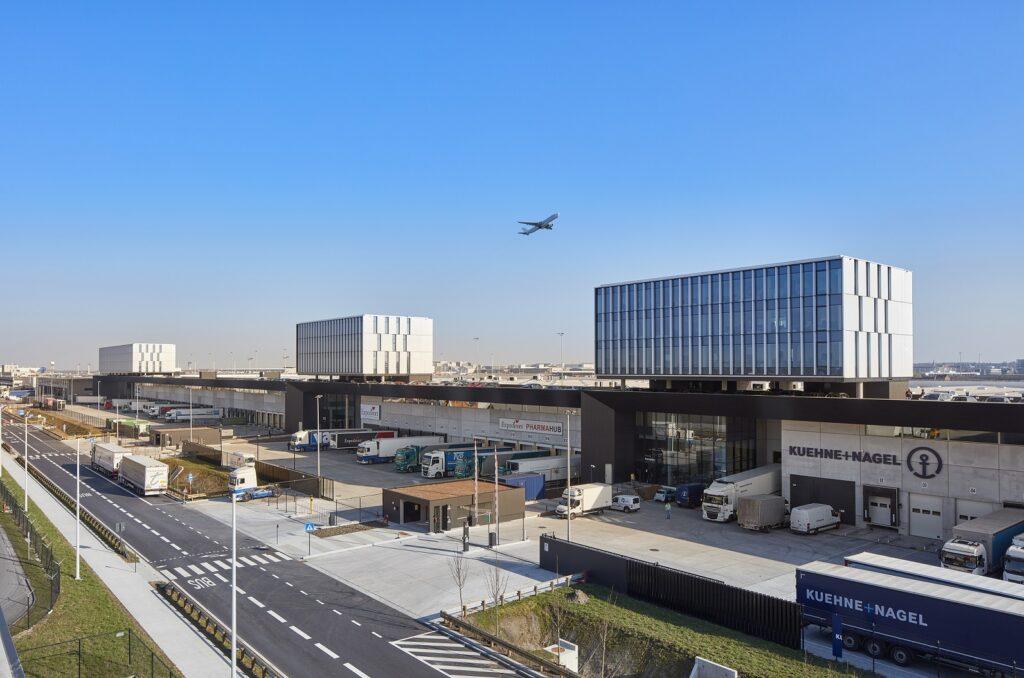 logistics building Brussels Airport