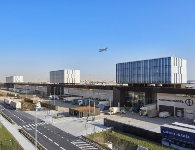New State-of-the-Art Logistics Building At Brussels Airport
