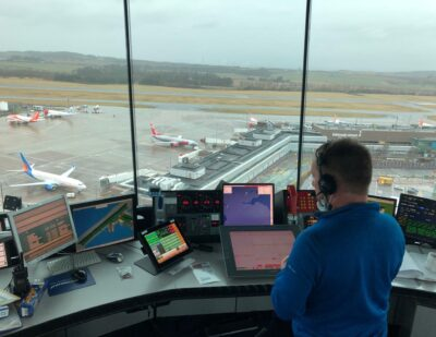 Successful VCS Switch-over at Edinburgh Airport