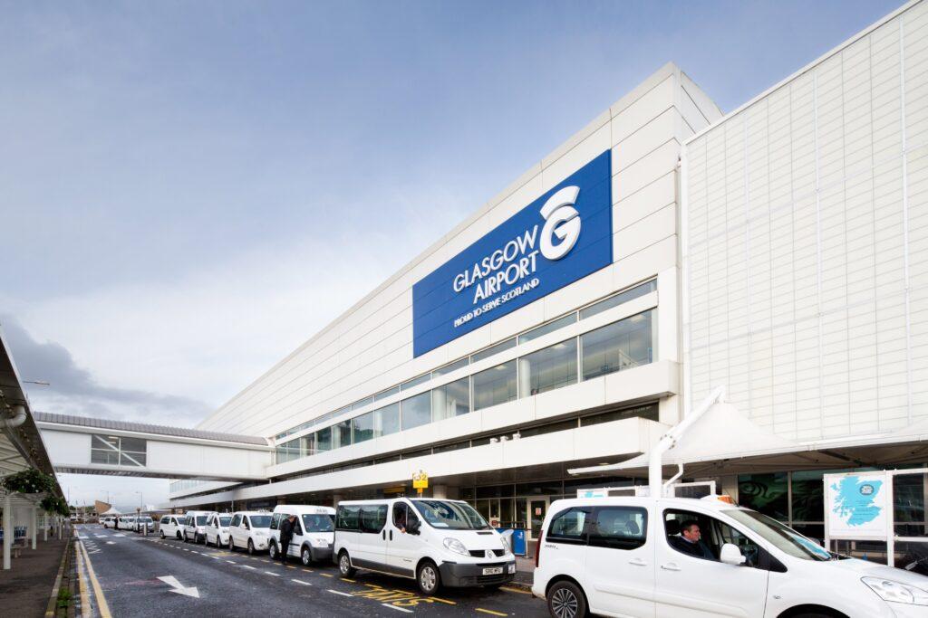 Glasgow airport safety award