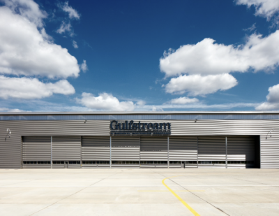 Jewers Doors Opens the Way for Gulfstream Aerospace at Farnborough Airport