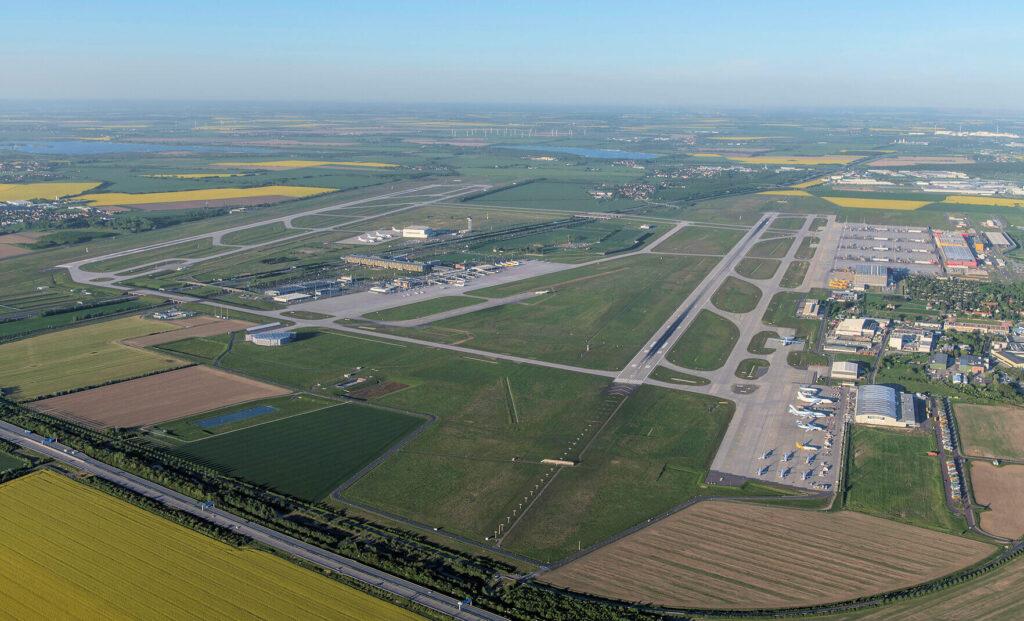 Leipzig Halle Airport runway