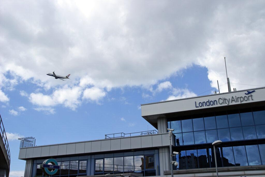 London City Airport portal