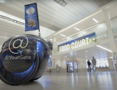 Rolling Droid Delivers Food and Smiles at MSP