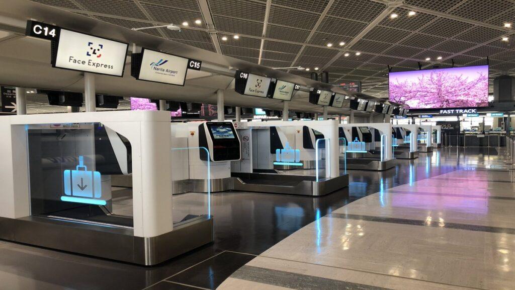narita airport biometric boarding