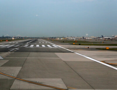 Runway Rehabilitation Begins at Newark Liberty International Airport