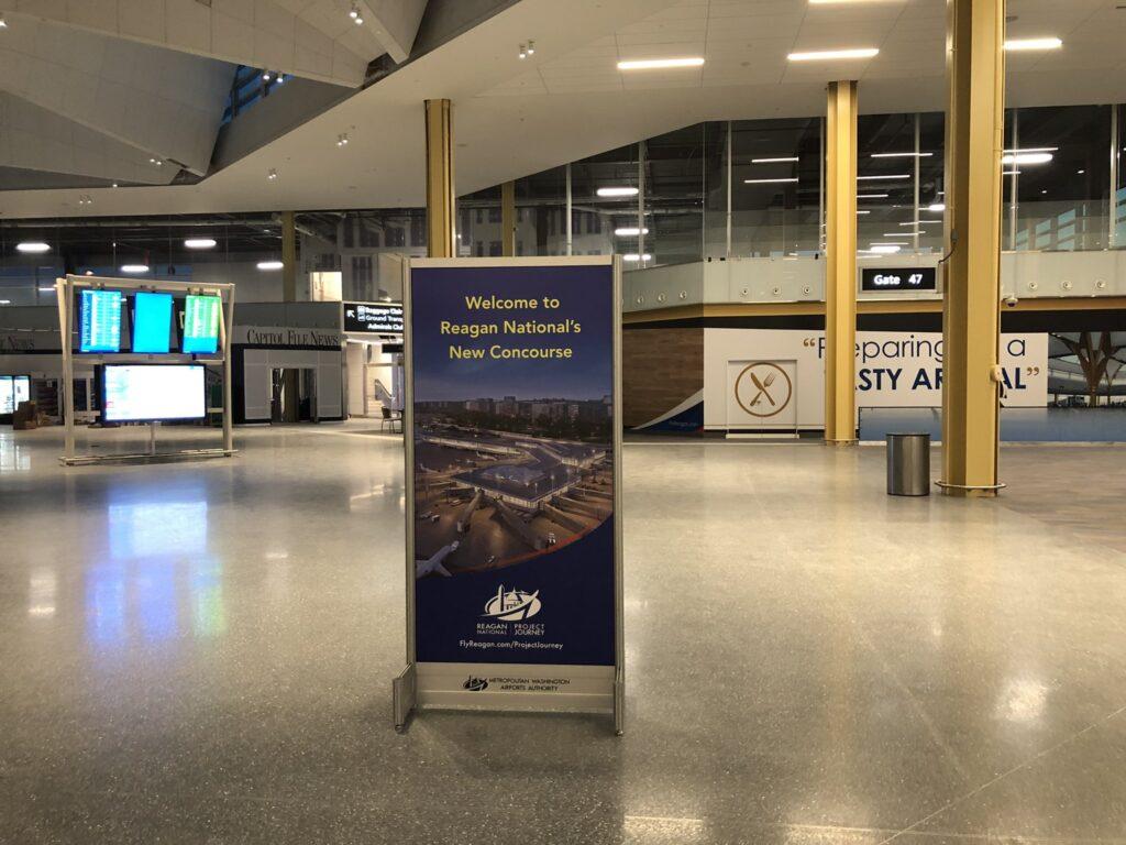 Reagan airport new concourse