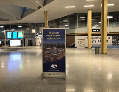 Reagan National Airport Opens New 14-Gate Concourse
