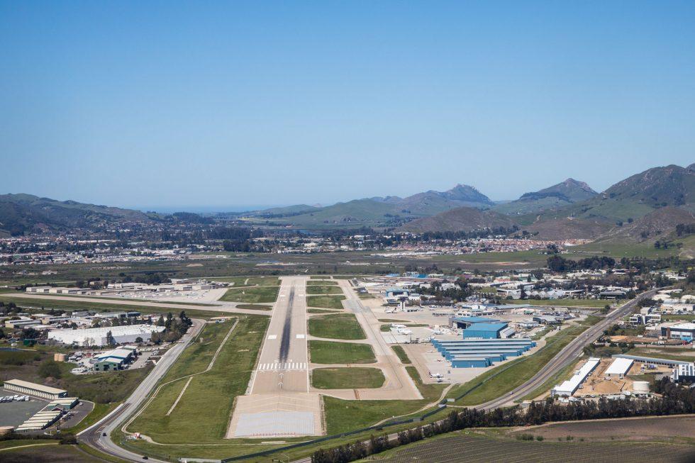 San Luis Obispo runway