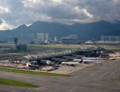 HKIA Selects Searidge for Tower and Apron Management