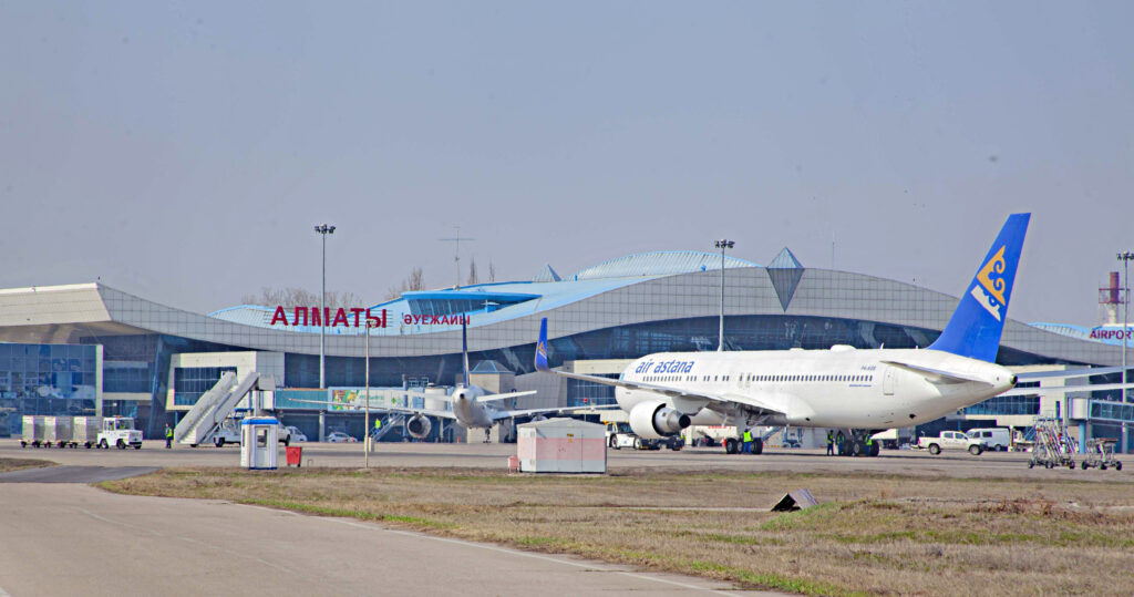 tav Almaty airport