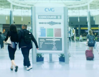 CVG Airport Adopts Veovo's Curb-to-Flight Passenger Flow Management