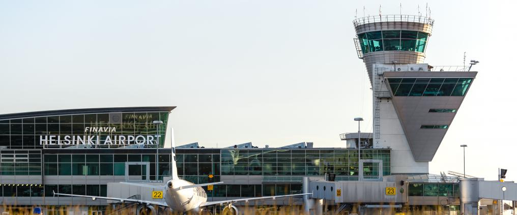 Finavia traffic Helsinki Airport