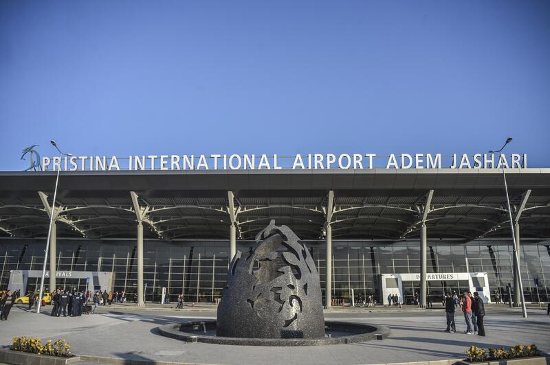 Pristina Airport bag drop