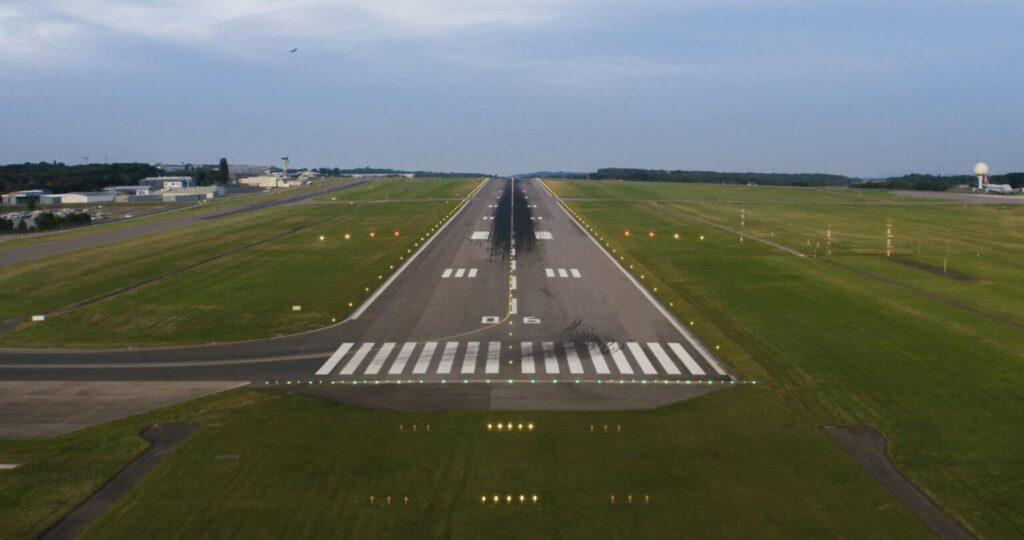 Luxembourg Airport runway renovation