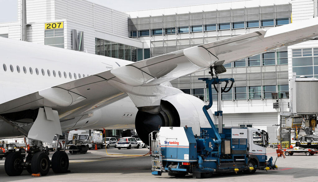 sustainable fuels Munich Airport
