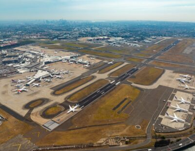 Sydney Airport's East-West Runway Re-Opens