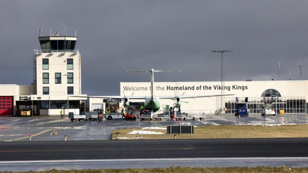 Widerøe haugesund airport