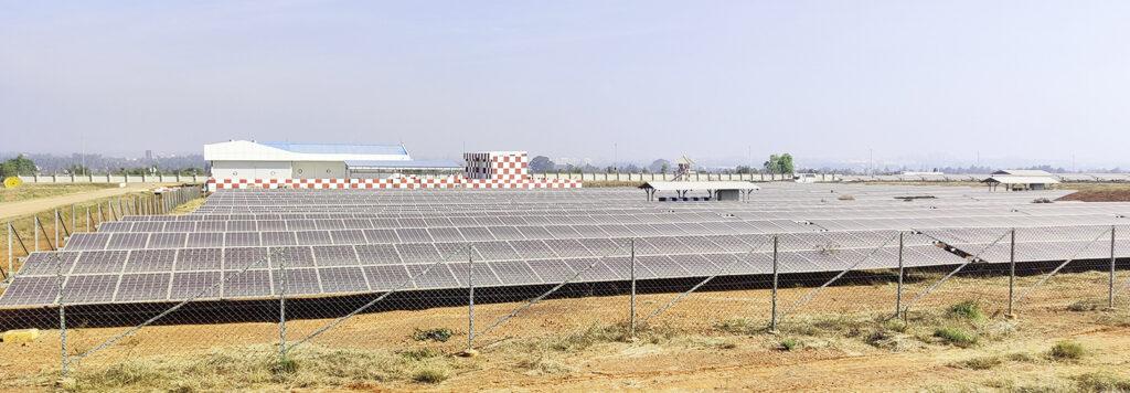 blr airport net energy neutral