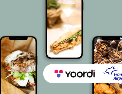 Fraport Testing Yoordi FoodOrdering Service at Frankfurt Airport