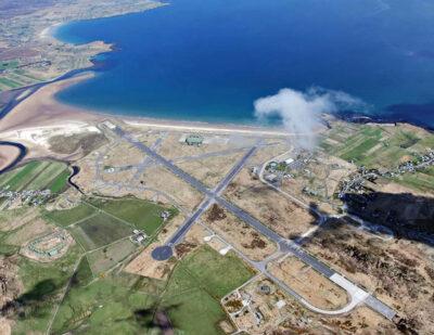 HIAL: Construction of Coastal Defences at Stornoway Airport