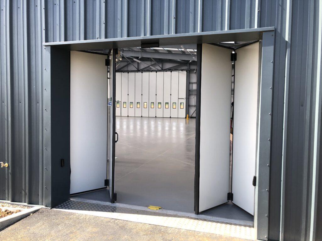 Jewers Doors Automatic Swift folding door