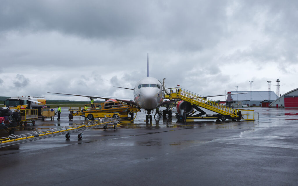 Kiruna remote air traffic