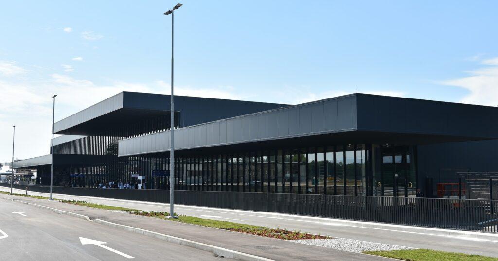 new passenger terminal ljubljana