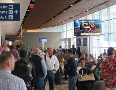 Rockbot, Clear Channel Airports Partner for Air Traveler Entertainment