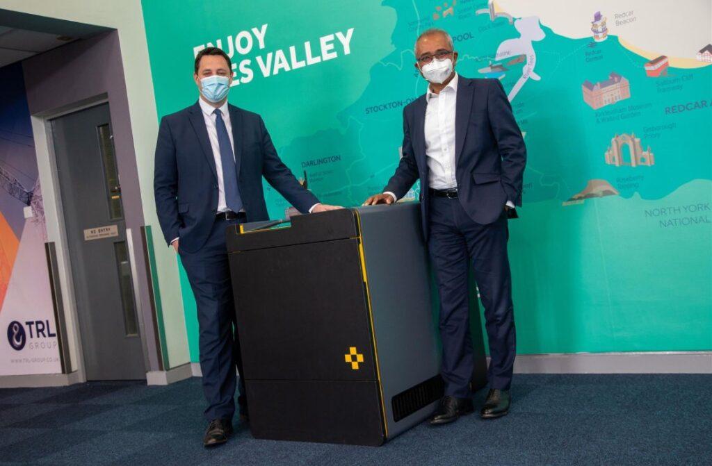 Teesside Airport coronavirus detector