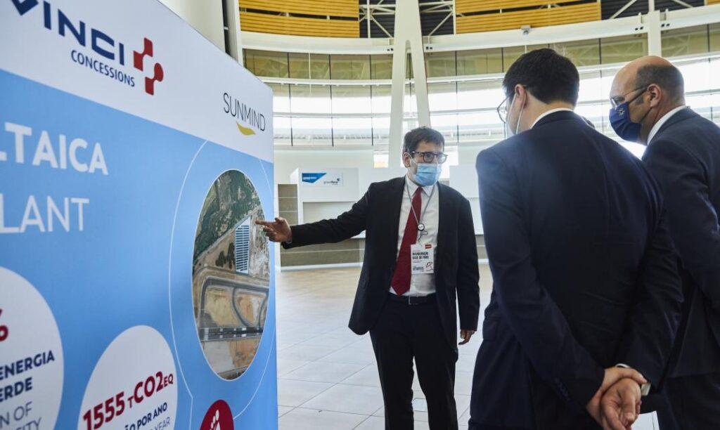 solar plant faro airport