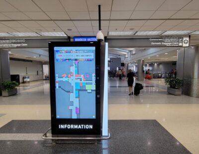 ATL Deploys Smart Wayfinding and Digital Directory Kiosks