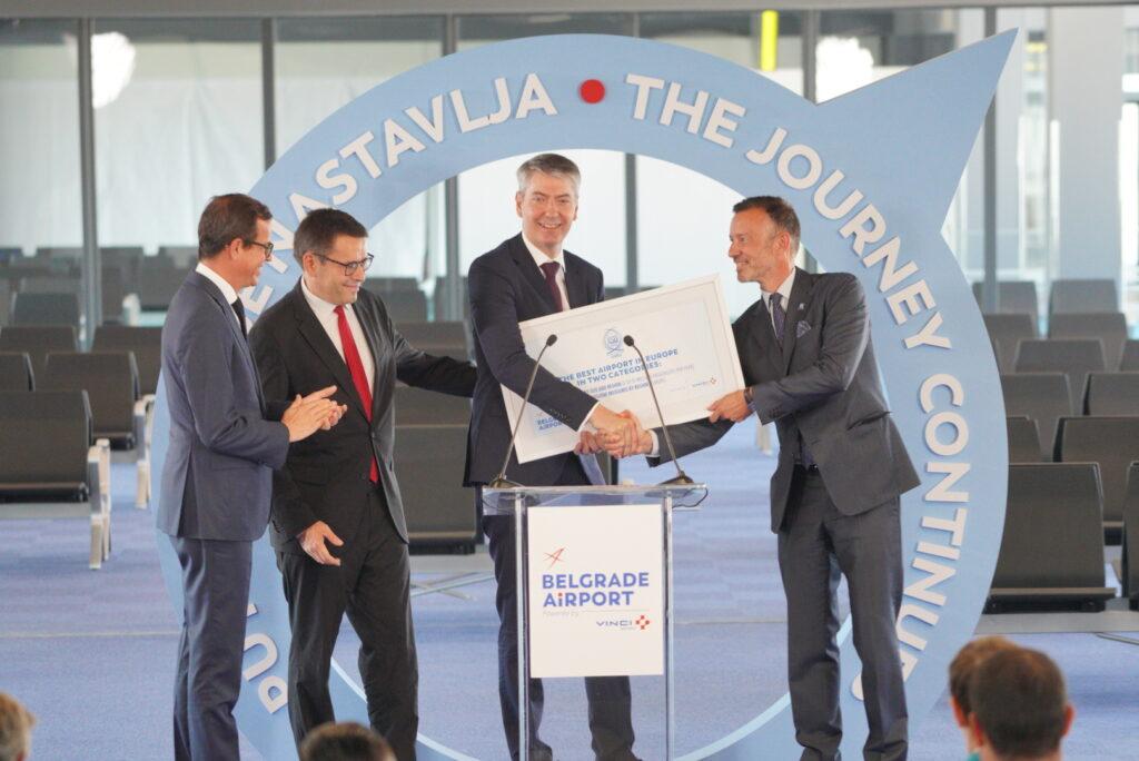 belgrade airport modernization