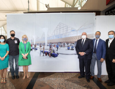 DEN Breaks Ground on Phase 2 of Great Hall Project