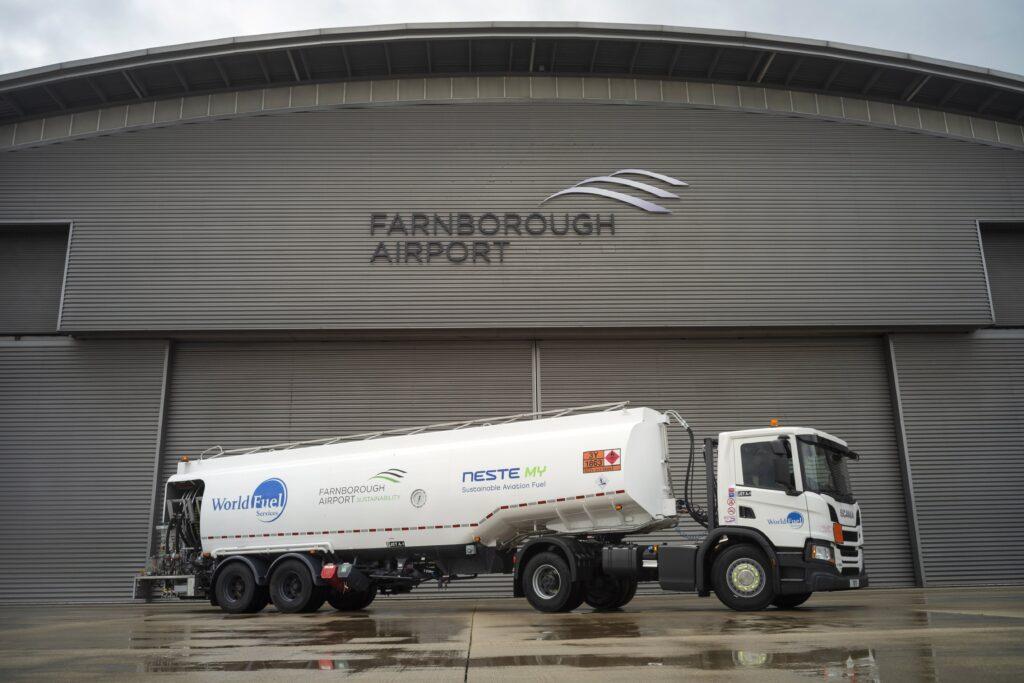 farnborough sustainable aviation fuels