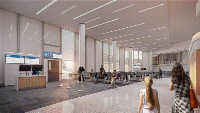 LAX terminal 6 renovation