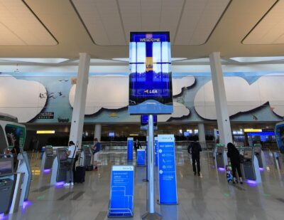 LaGuardia Airport's Terminal B First to Earn LEED v4 Gold Certification