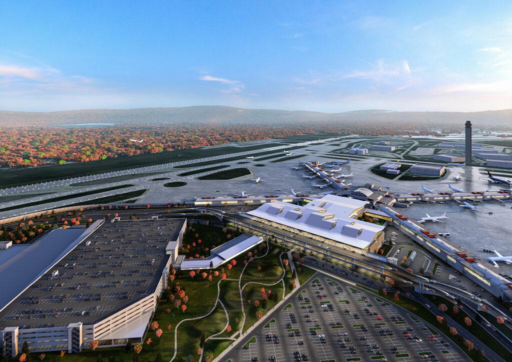 PIT new terminal