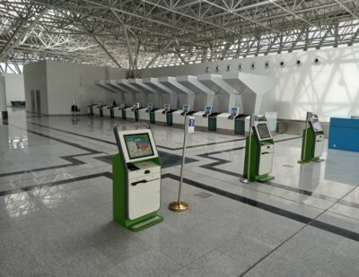SITA Passenger Self Services for Addis Ababa Bole International Airport