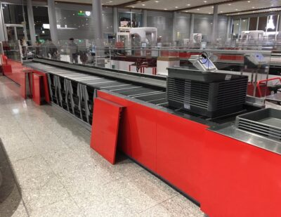 Smiths Detection Ultraviolet Tray Disinfection Technology on Trial at CDG