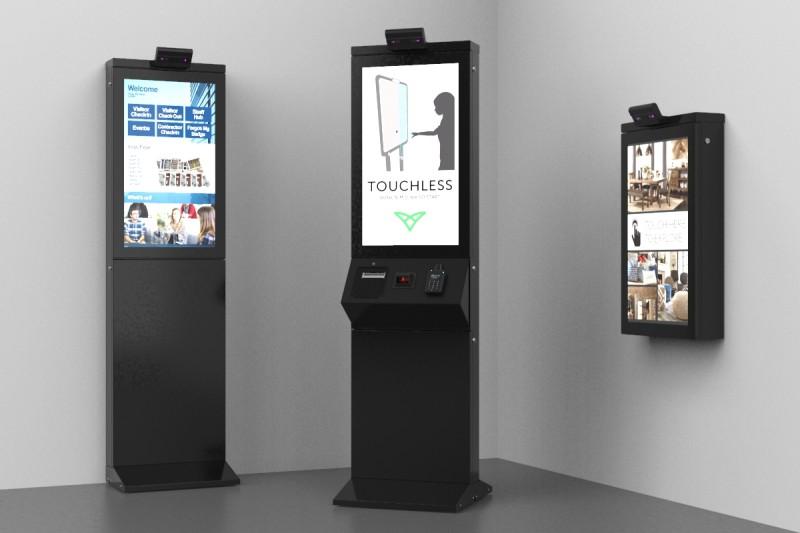 touchless kiosk