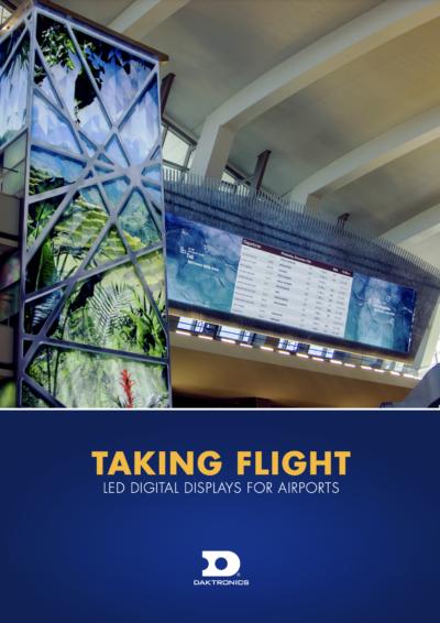 LED Digital Displays for Airports