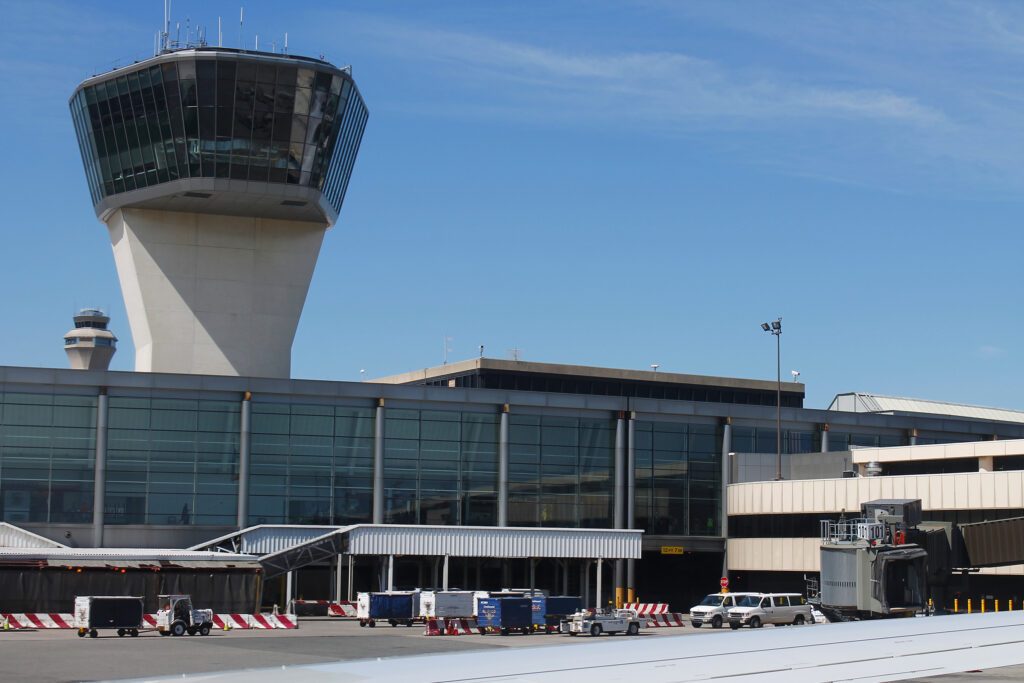 newark airport biometric boarding