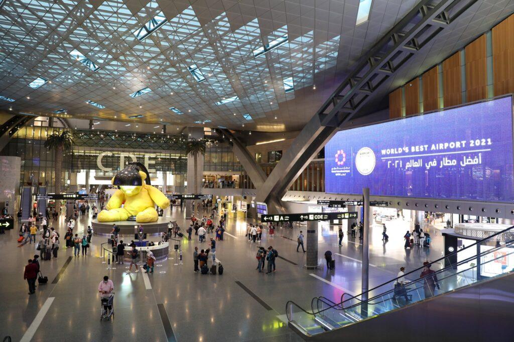 hamad international airport award