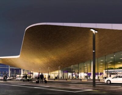 100 Days until the Opening of Helsinki Airport's New Entrance