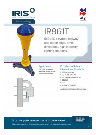IR861T | IRIS LED Lighting Solutions