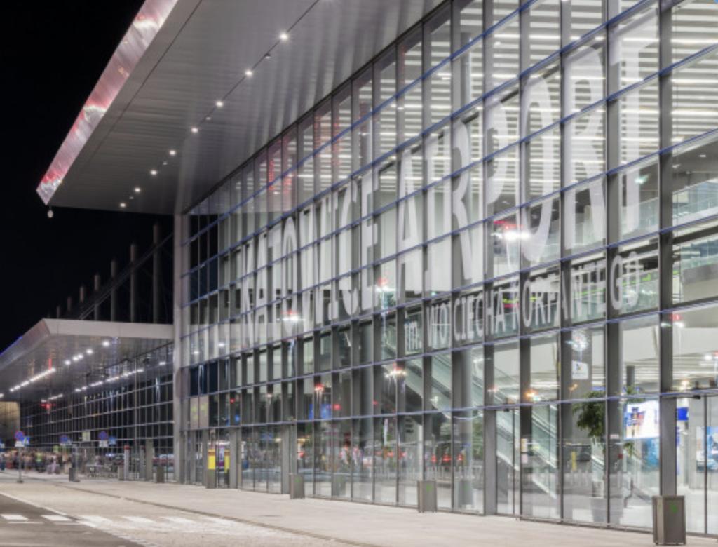 terminal b Katowice Airport